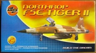 Airfix Northrop F E Tiger  Build The Dream